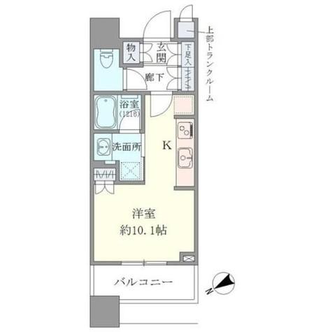 Brillia Towers目黒サウスレジデンス(ブリリアタワーズ目黒サウスレジデンス) / 4階 部屋画像1