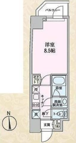 S-RESIDENCE清澄白河 / Cタイプ(25.91㎡) 部屋画像1