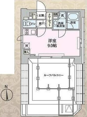 S-RESIDENCE清澄白河 / ワンルーム(25.64㎡) 部屋画像1