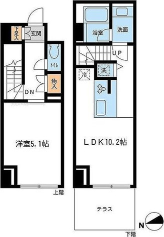 レジデンス雪谷大塚 / 1階 部屋画像1