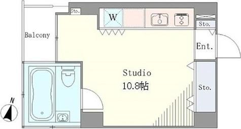 ベルメゾン南麻布grand / ワンルーム(26.95㎡) 部屋画像1