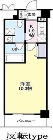 ドゥーエ東高円寺 / 1K(29.41㎡) 部屋画像1