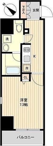 CSD月島 / 2階 部屋画像1