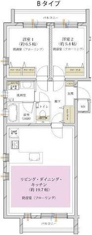 サウンドプルーフ都立大学 / 2LDK(70.40㎡) 部屋画像1