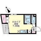フェリス西大井 / Aタイプ(19.98㎡) 部屋画像1