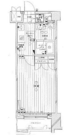 ルーブル学芸大学七番館 / 4階 部屋画像1