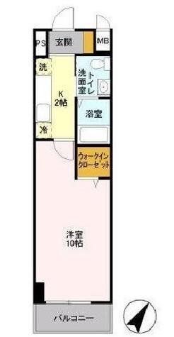 ソラーレ横濱(SOLARE横浜) / 1K(30.04㎡) 部屋画像1