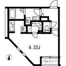 ブランシェ哲学堂公園 / ワンルーム(30.54㎡) 部屋画像1