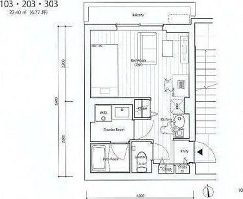 SOCIETY KOMAZAWA / 1階 部屋画像1