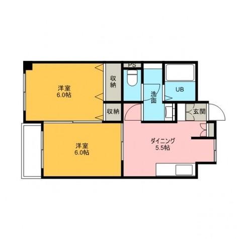 プライムアーバン勝どき(旧アーバンステージ勝どき) / 513 部屋画像1