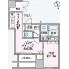 ウエストパークタワー池袋 / 1LDK(40.29㎡) 部屋画像1