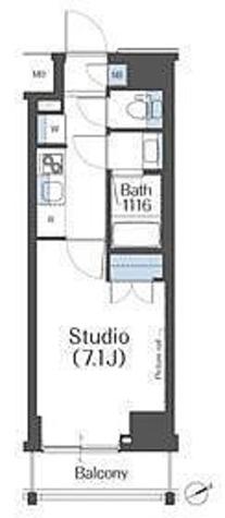 アパートメンツ中野新橋 / 1階 部屋画像1
