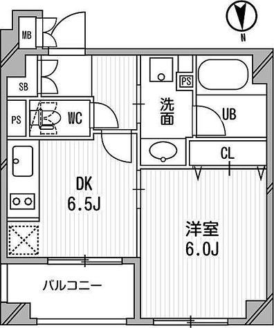 クリオ三田ラ・モード / 1DK(33.15㎡) 部屋画像1