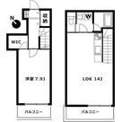 エルスタンザ中野新井 / 1LDK55.20㎡ 部屋画像1