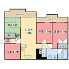 三ッ沢テレス / 301 部屋画像1