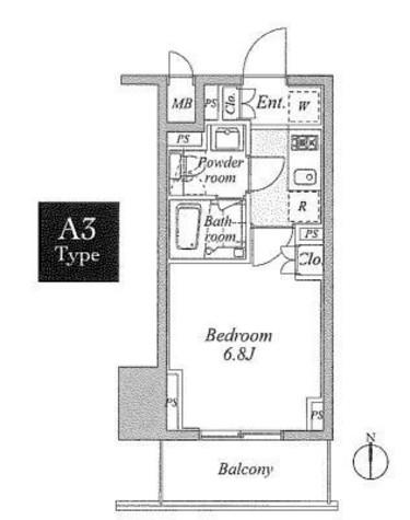 プラウドフラット神楽坂Ⅱ / 6階 部屋画像1