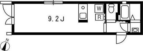 プロト西小山 / 1K(20.93㎡) 部屋画像1