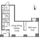 レジディアタワー麻布十番 / 1LDK(55.07㎡) 部屋画像1