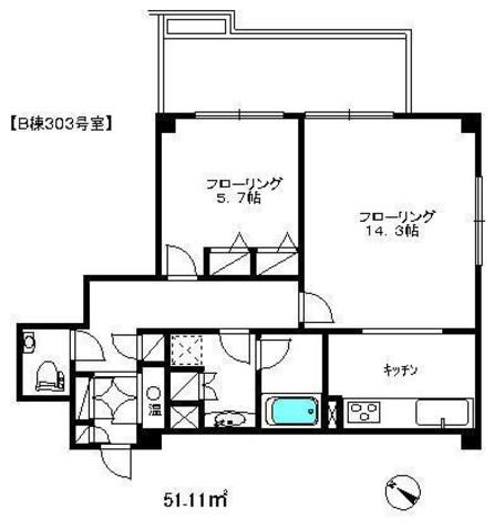 代官山アドレス ジ・アネックス / B棟303 部屋画像1