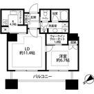 東京ツインパークス ライトウイング / 1104 部屋画像1