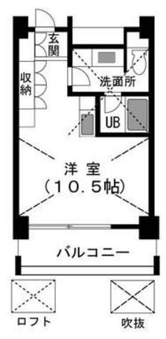 マリンベルコート / 3階 部屋画像1