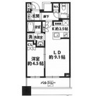 Brillia Towers 目黒 SOUTH RESIDENCE / 1312 部屋画像1