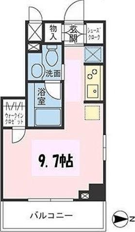 ザ・パームス両国 / ワンルーム(27.42㎡) 部屋画像1