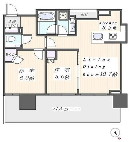 シティタワー目黒 / 1503 部屋画像1