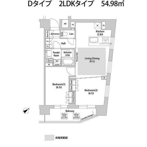 ソアラノーム大岡山 / 209 部屋画像1