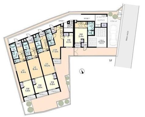 ヴィラージュ白金台 / 1階 部屋画像1