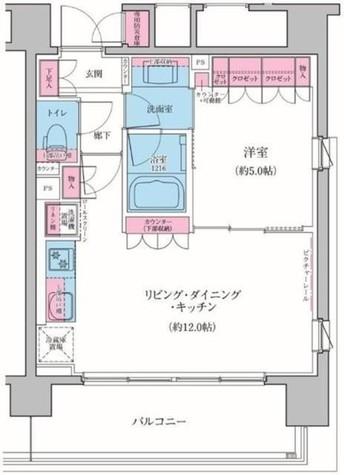 クレヴィアリグゼ品川シーサイド / 9階 部屋画像1