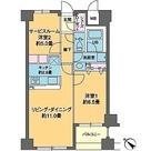 カスタリア茅場町 / 1SLDK(55.56㎡) 部屋画像1