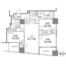 カスタリアタワー品川シーサイド / 70Hタイプ(71.74㎡) 部屋画像1