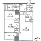 カスタリアタワー品川シーサイド / 60Eタイプ(59.22㎡) 部屋画像1