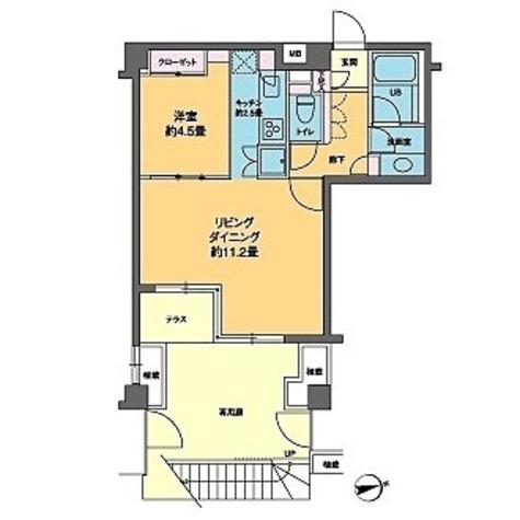 カスタリア高輪台Ⅱ(旧ニューシティレジデンス高輪台Ⅱ) / 1階 部屋画像1