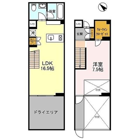 カスタリア初台Ⅱ (旧:イプセ初台) / C1タイプ(58.65㎡) 部屋画像1