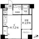 ハイリーフ上野(旧レジディア上野) / 1K(25.03㎡) 部屋画像1