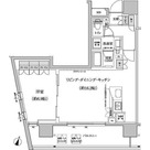 パークハビオ渋谷本町レジデンス / 50Bタイプ 部屋画像1