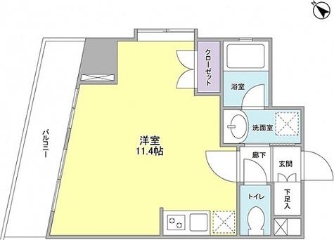 ライム池尻大橋 / ワンルーム(30.04㎡) 部屋画像1