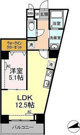 BLESS志村坂上 / 1LDK(44.10㎡) 部屋画像1