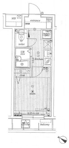 サンテミリオン池袋Ⅱ / 8階 部屋画像1