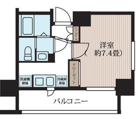 ルラシオン町田 / Ctype 部屋画像1