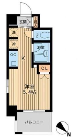 レジディア川崎 / 2階 部屋画像1