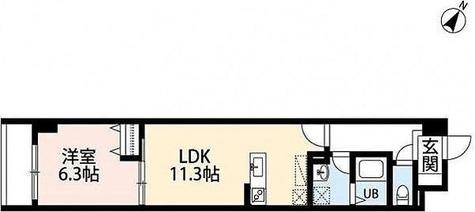 アルヴィータ / 1LDK(42.41㎡) 部屋画像1