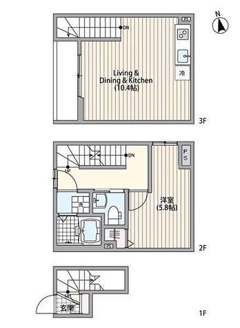ミハス市川 / 1LDK(43.06㎡) 部屋画像1