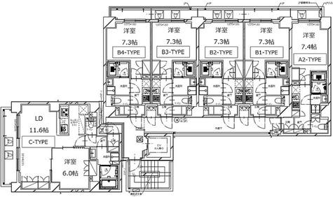 S-RESIDENCE月島 / Bタイプ(25.34㎡) 部屋画像1