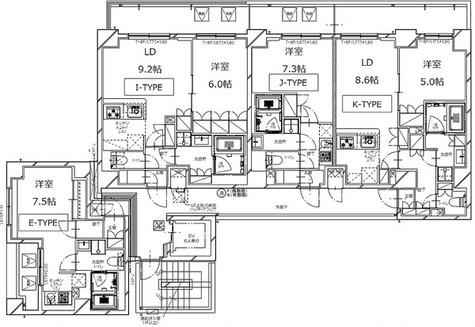 S-RESIDENCE月島 / Jタイプ(25.54㎡) 部屋画像1