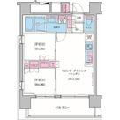 クレヴィアリグゼ品川シーサイド / 2LDK(40.01㎡) 部屋画像1