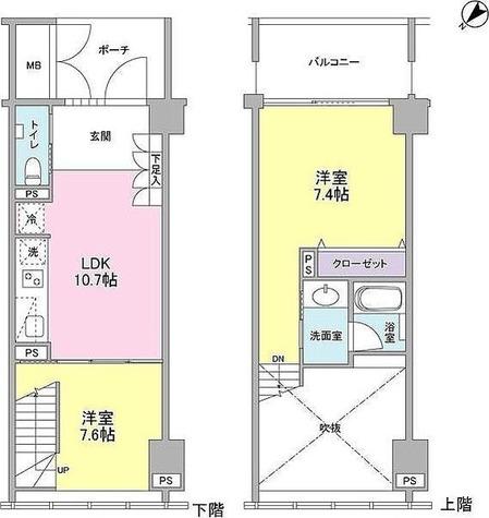 ラフィーヌ銀座 / 1階 部屋画像1