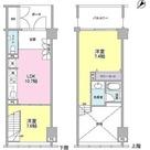 ラフィーヌ銀座 / 2LDK(54.35㎡) 部屋画像1